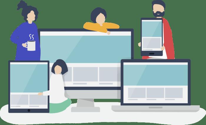 Responsive website design - Vanfly